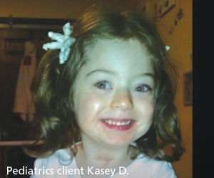 Child after trach has been removed