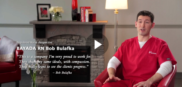 Registered Nurse Perspective | BAYADA RN Bob Bulafka
