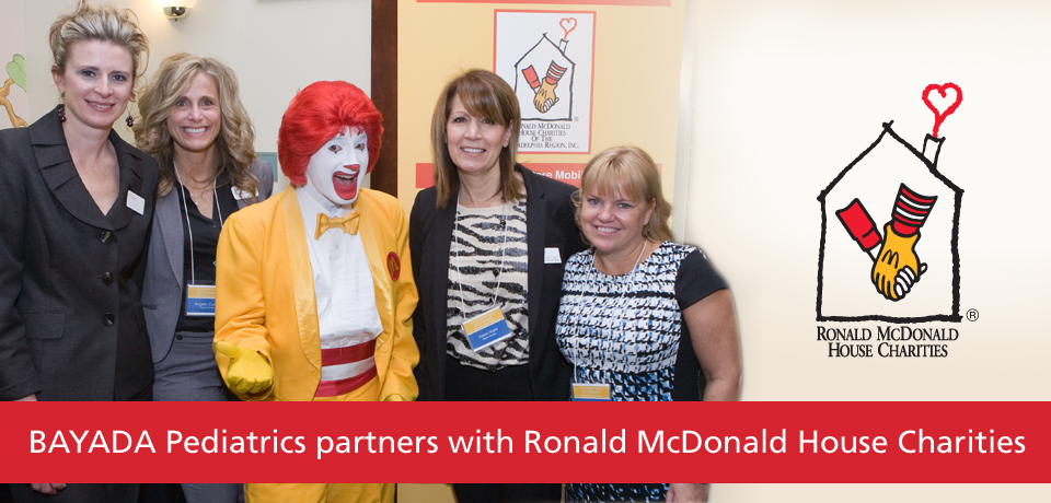 BAYADA Pediatrics Partners with Ronald McDonald House Charities