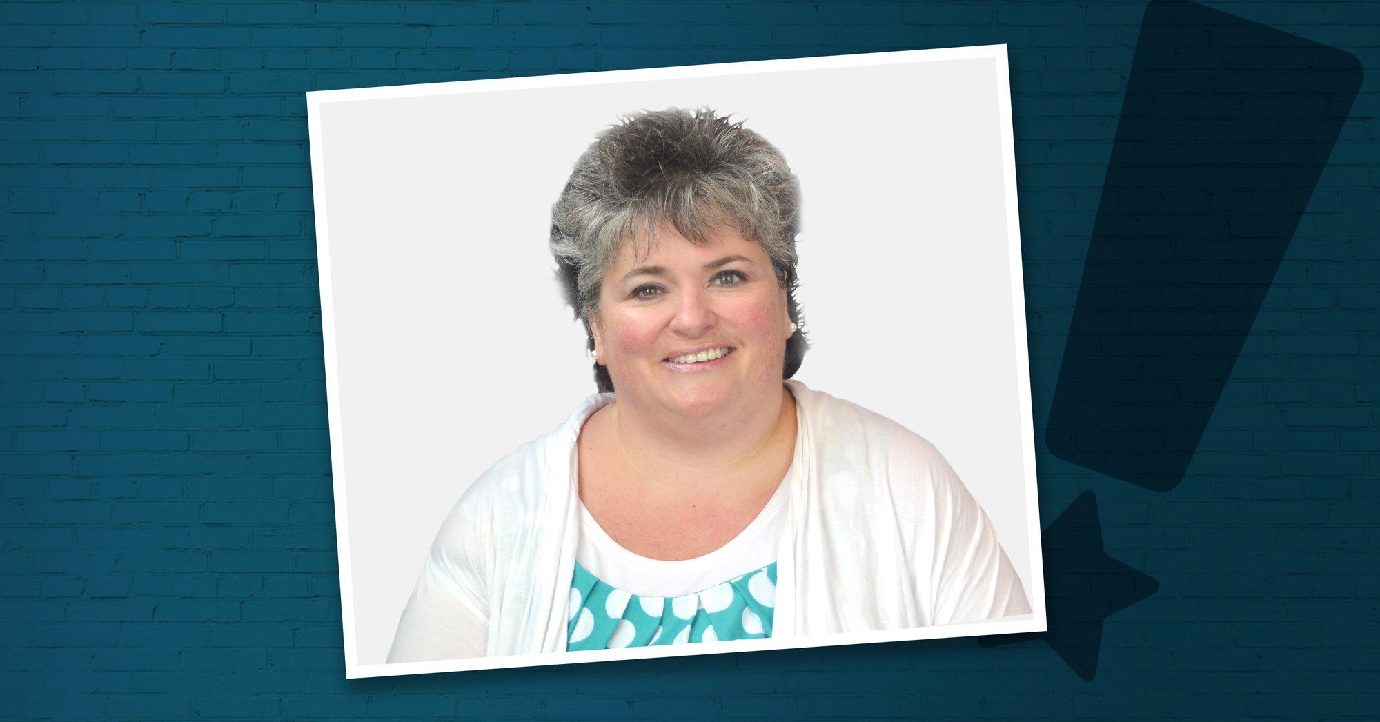Photo of Jeanette Leavitt, RN, the Ann Baiada Award Winner in 2020