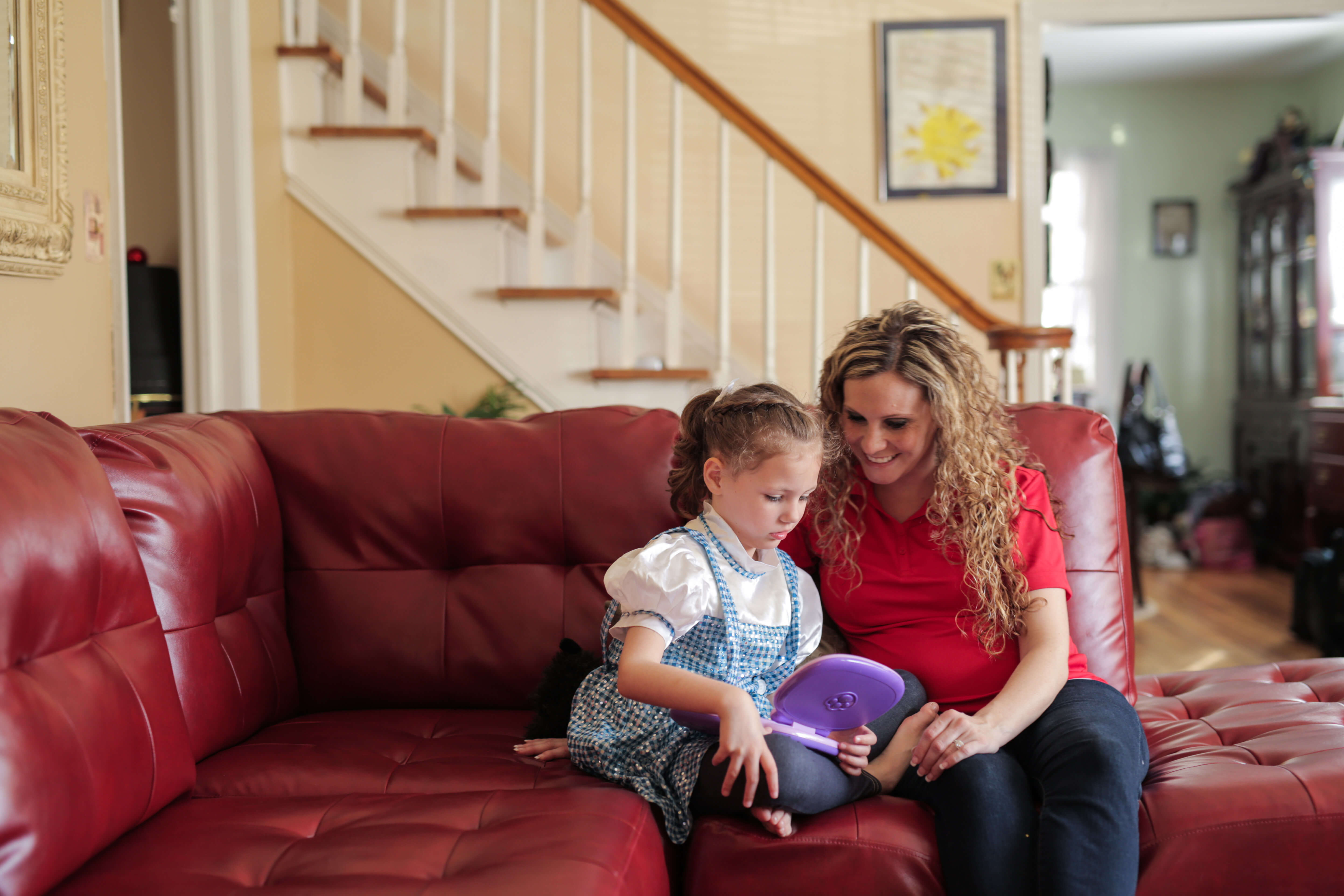 Child with special needs gets home care support.