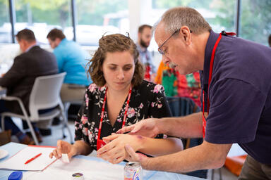 continuing education for nurses: BAYADA nurses practice wound care