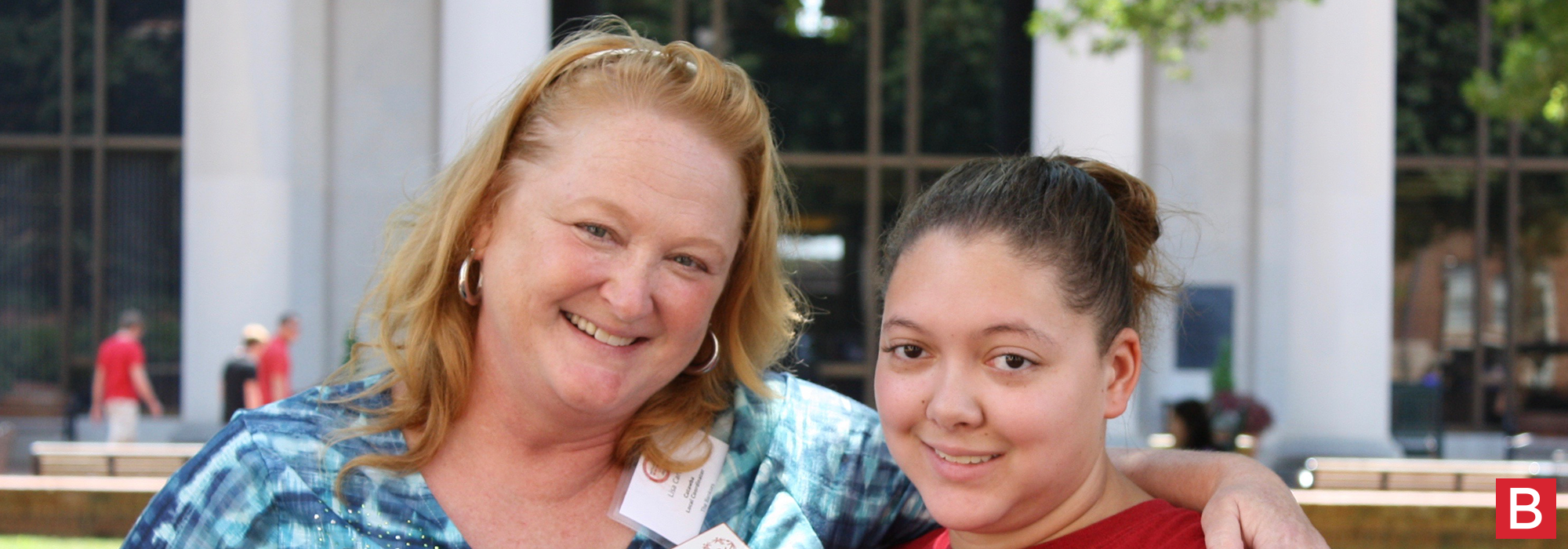 Lisa Carroll and her daughter, Sabrina