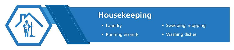 Home health aide duties: housekeeping