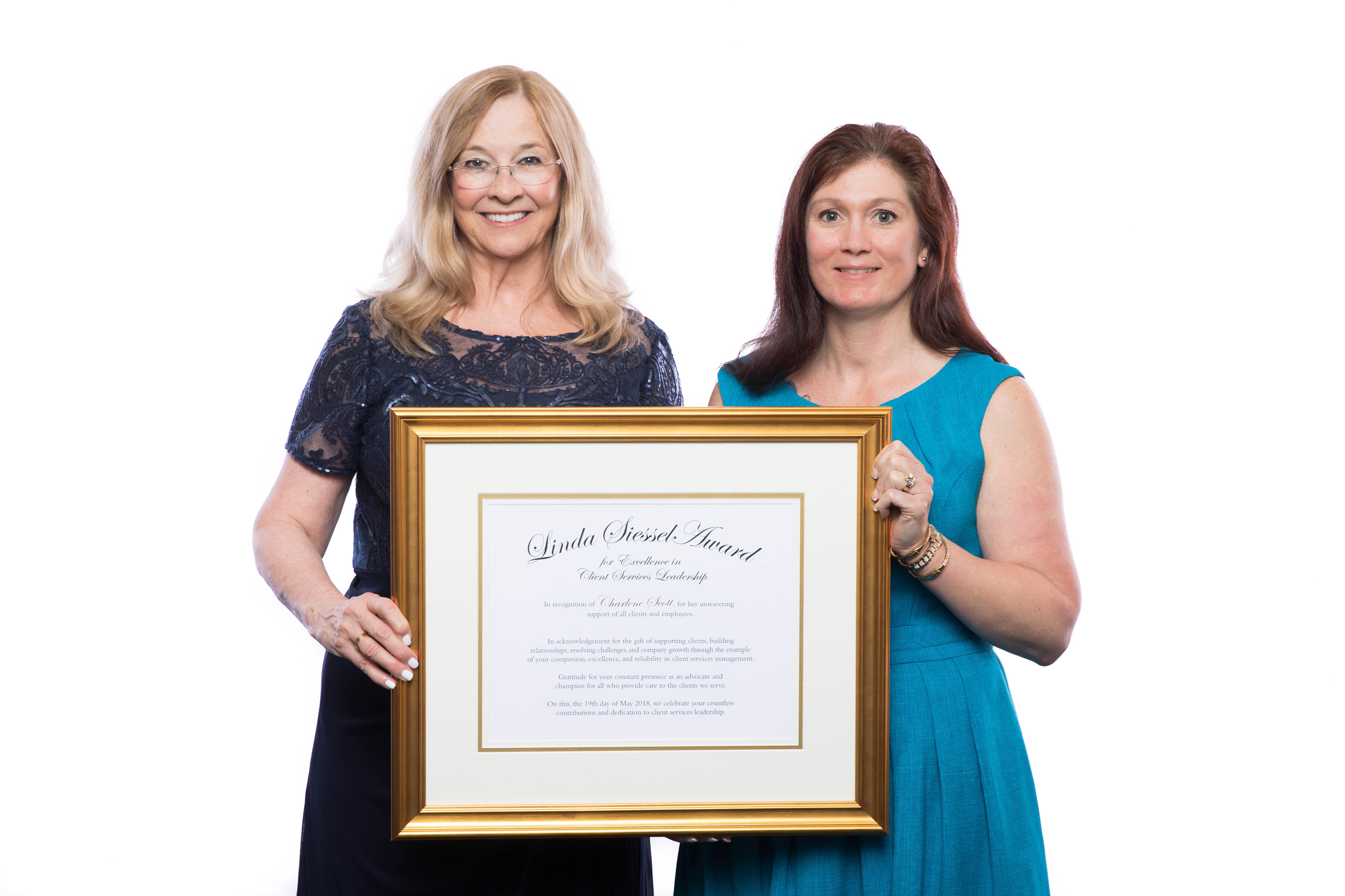 BAYADA_Charlene Scott with Linda_Siessel