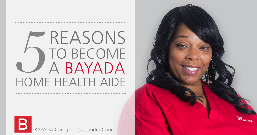 Five Reasons to Become a Home Health Aide